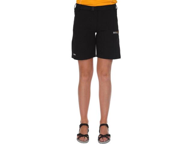 Regatta Xert II Stretch Pantaloncini Donna, black